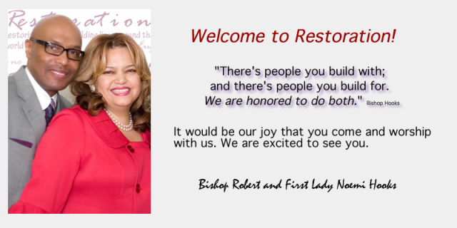 Welcome to Restoration Online